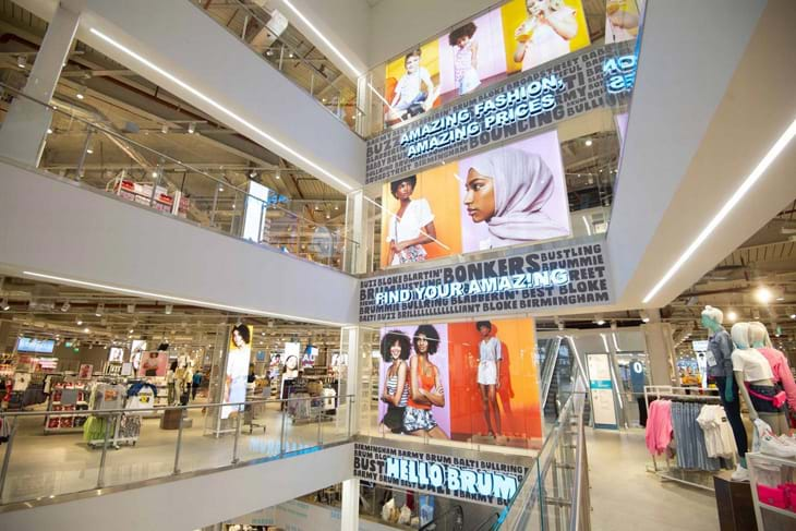 Birmingham Primark Comes To Life Wih Music