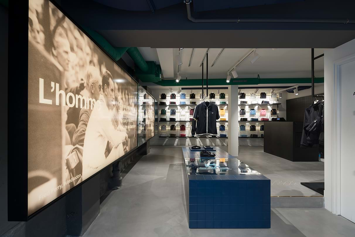 In-store with Fred Perry