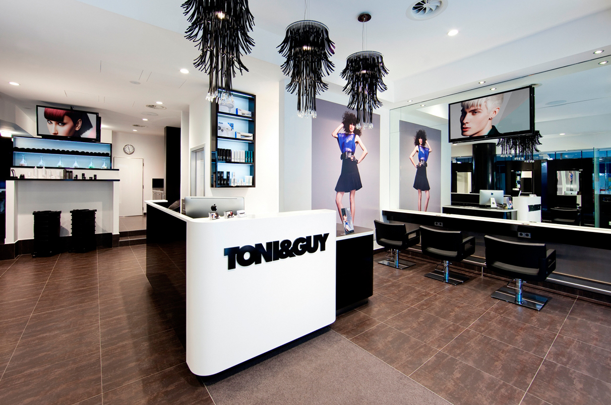 In-store TONI&GUY Salon